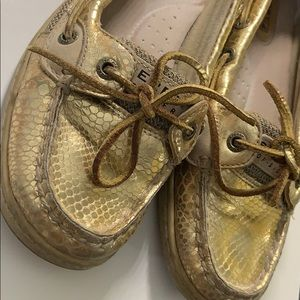 Sperry Gold Top Siders